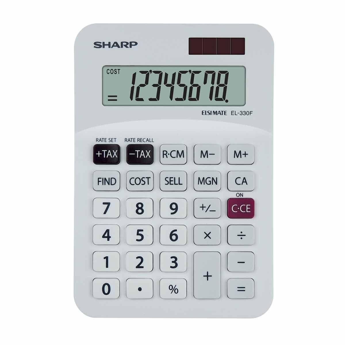 Sharp EL-330FB Desktop Calculator
