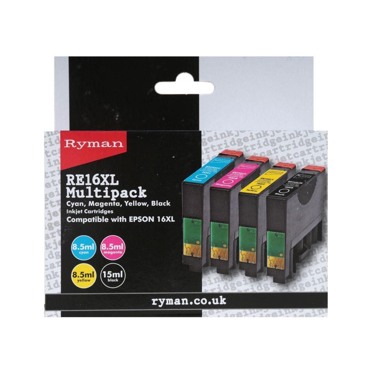 Ryman Epson 16XL  Multipack
