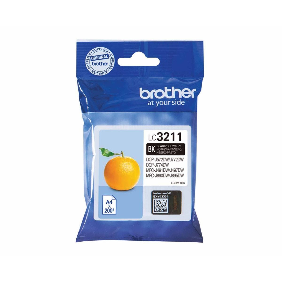 Brother LC3211BK Black Original Ink Cartridge