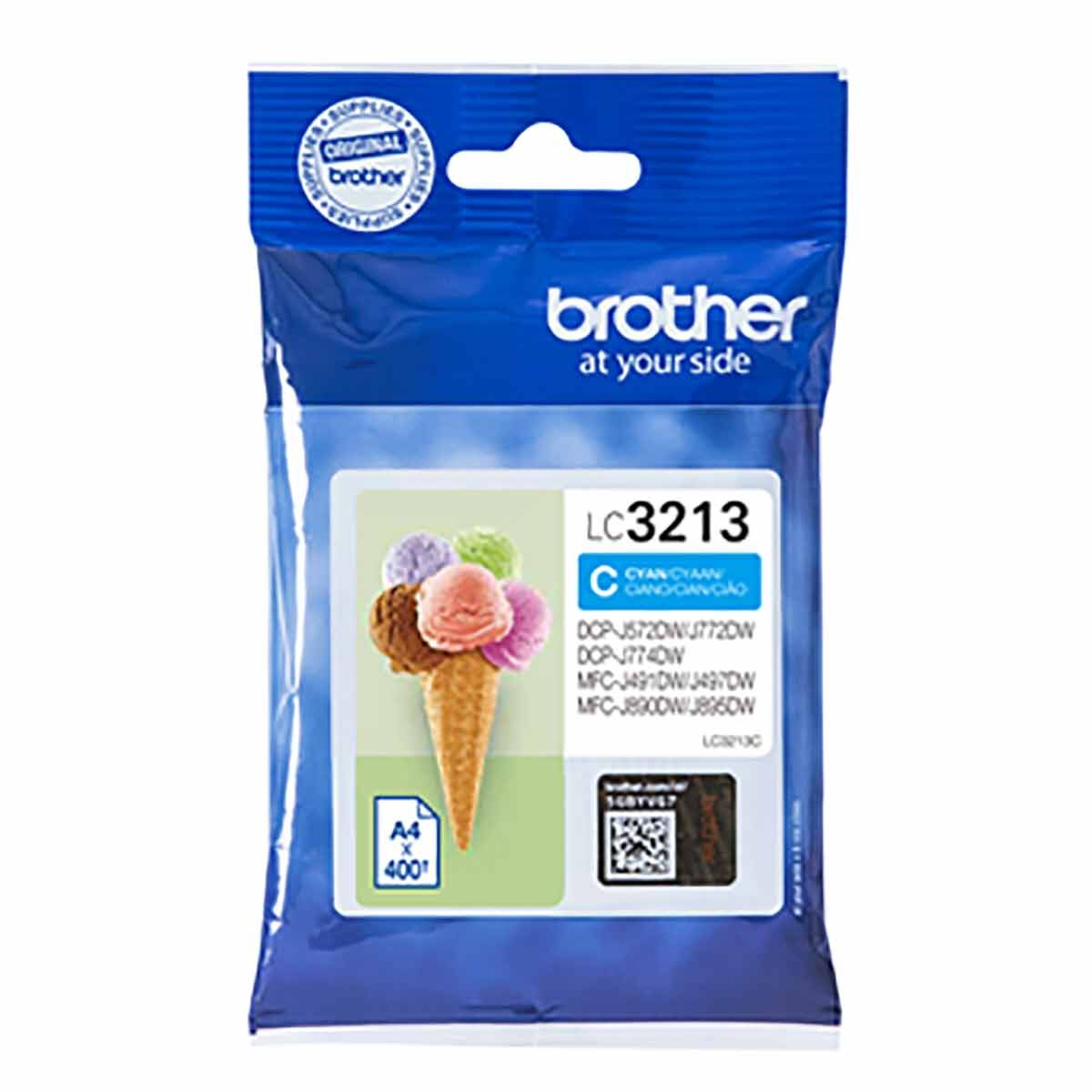 Brother Original Ink Cartridge Cyan