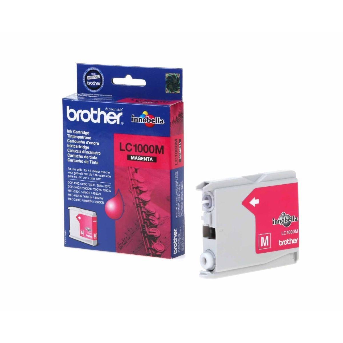 Brother LC1000 Ink Cartridge Magenta
