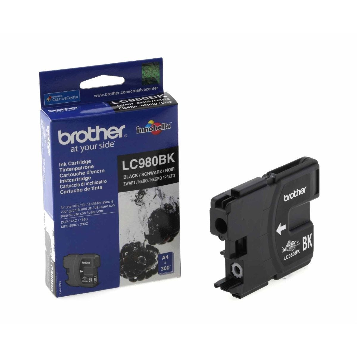 Brother LC980BK Ink Cartridge