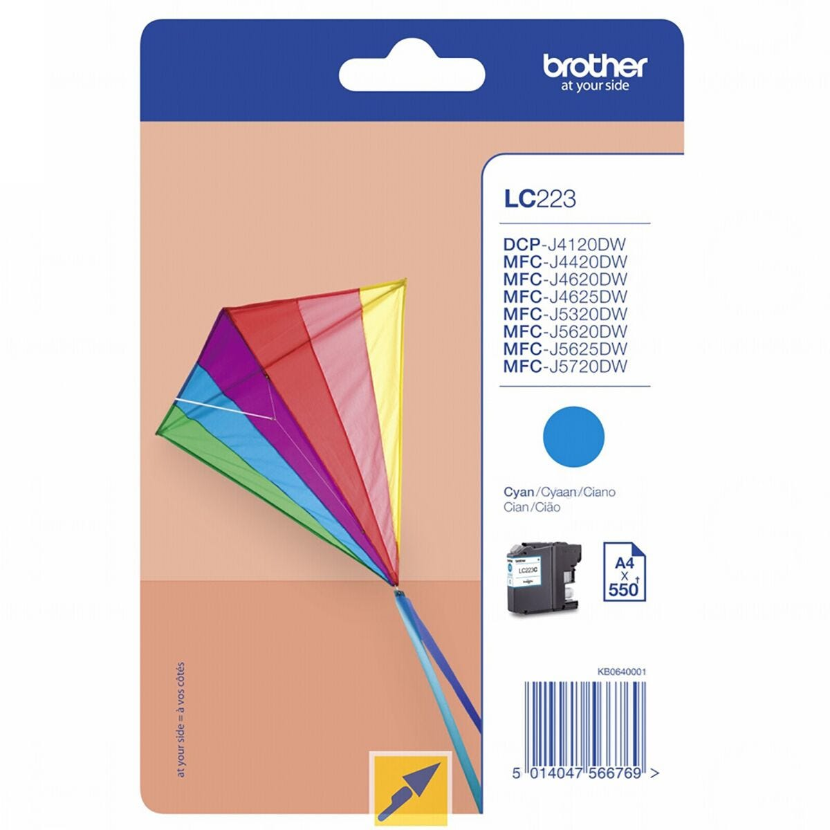 Brother LC223C Ink Cartridge