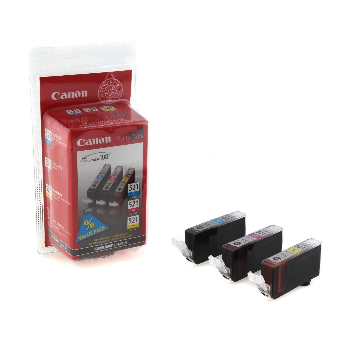 Canon CLI-521 Multipack Ink Cartridge