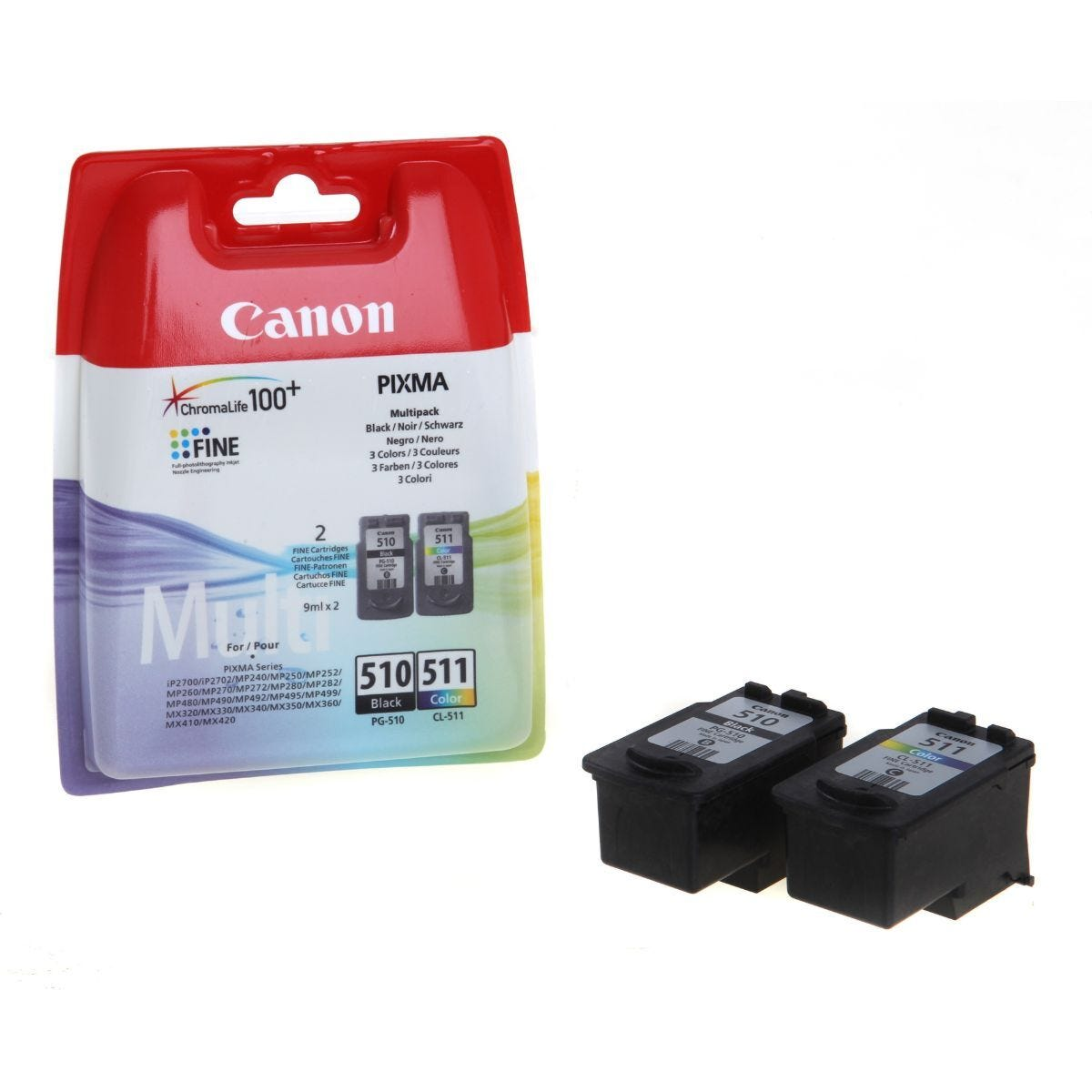 Canon Ink Cartridge PG-510/CL511 Multipack 9ml