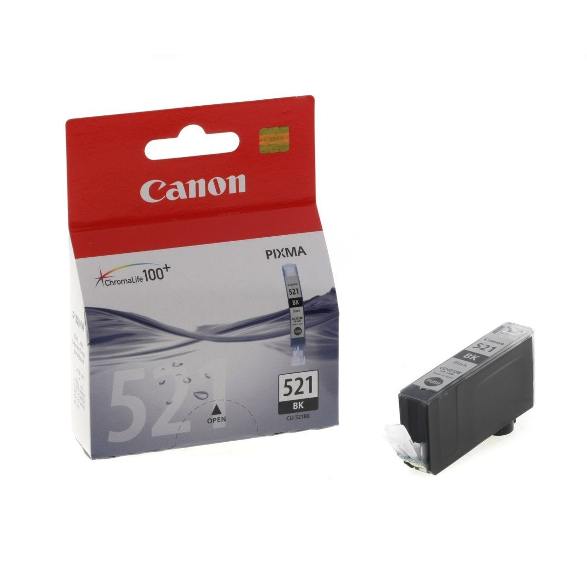 Canon CLI-521BK Ink Cartridge 9ml