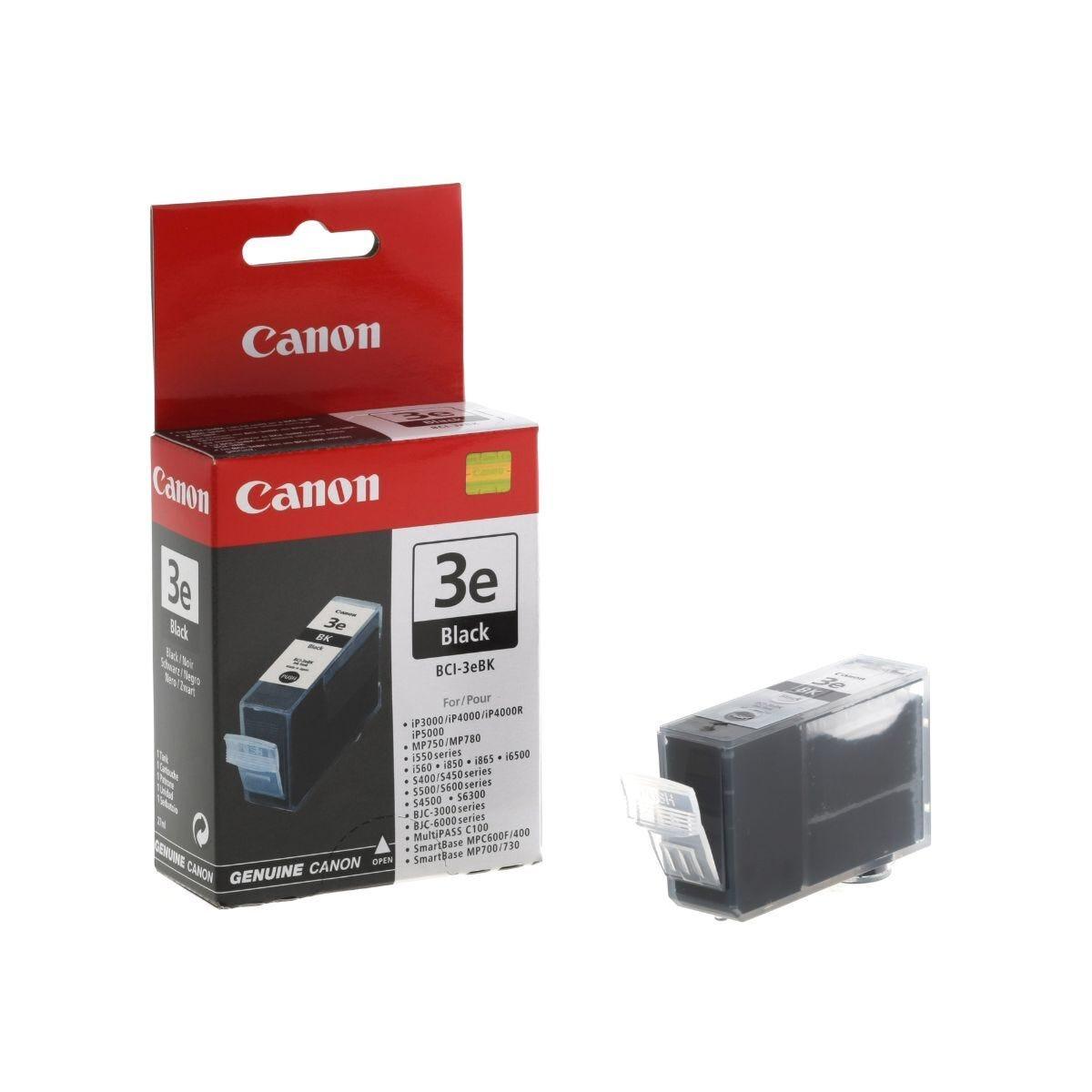 Canon BCI-3EBK Ink Cartridge 27ml