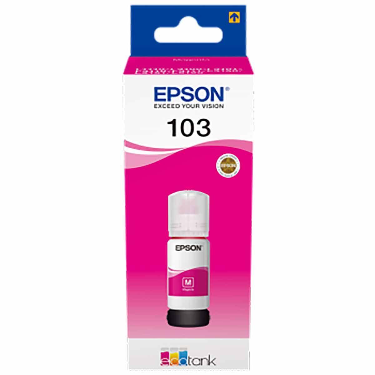 Epson 103 Colour Ink Bottle Magenta