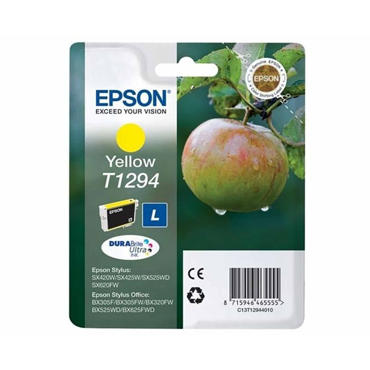 Epson Inkjet Cartridge T1294 7ml