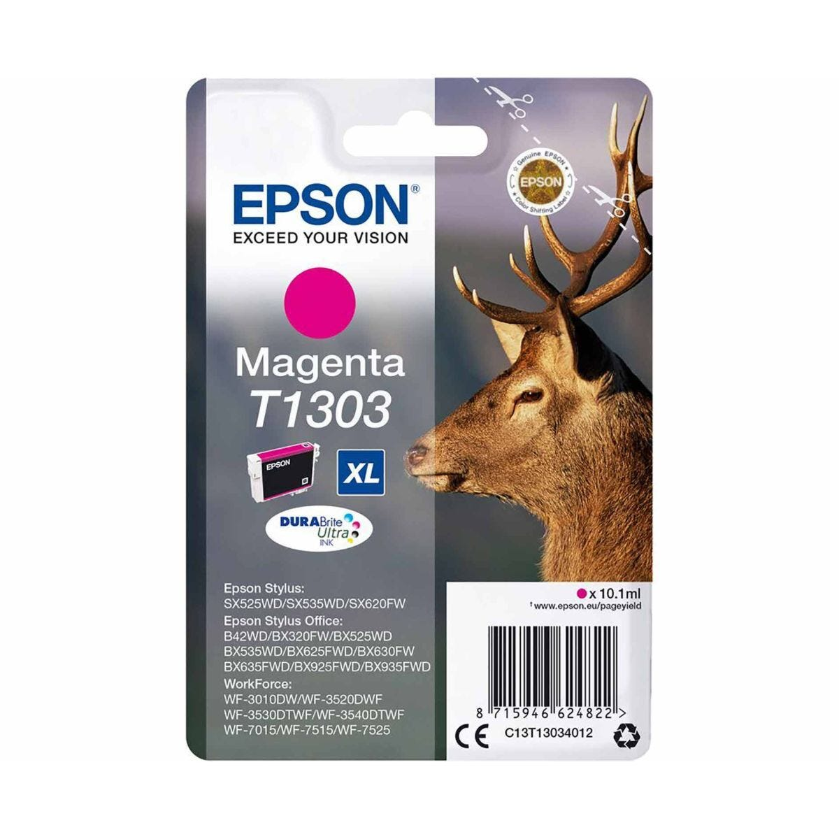 Epson Inkjet Cartridge T1303 10ml