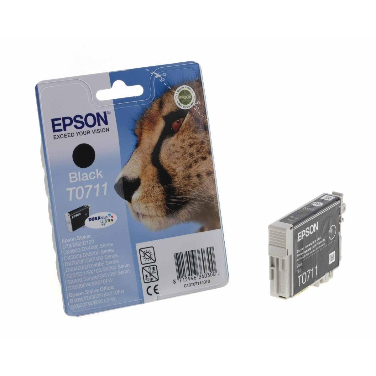 Epson T0711 Ink Cartridge 5.5ml