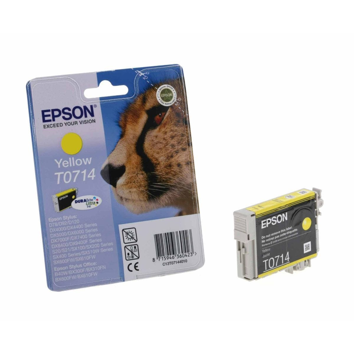 Epson T0714 Ink Cartridge 5.5ml