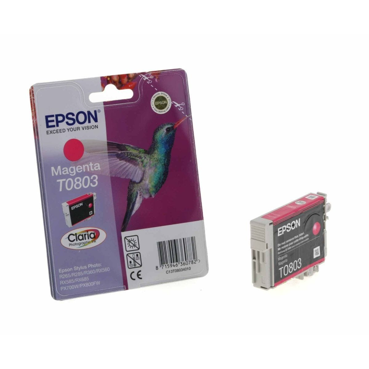 Epson T0803 Ink Cartridge 7.4ml