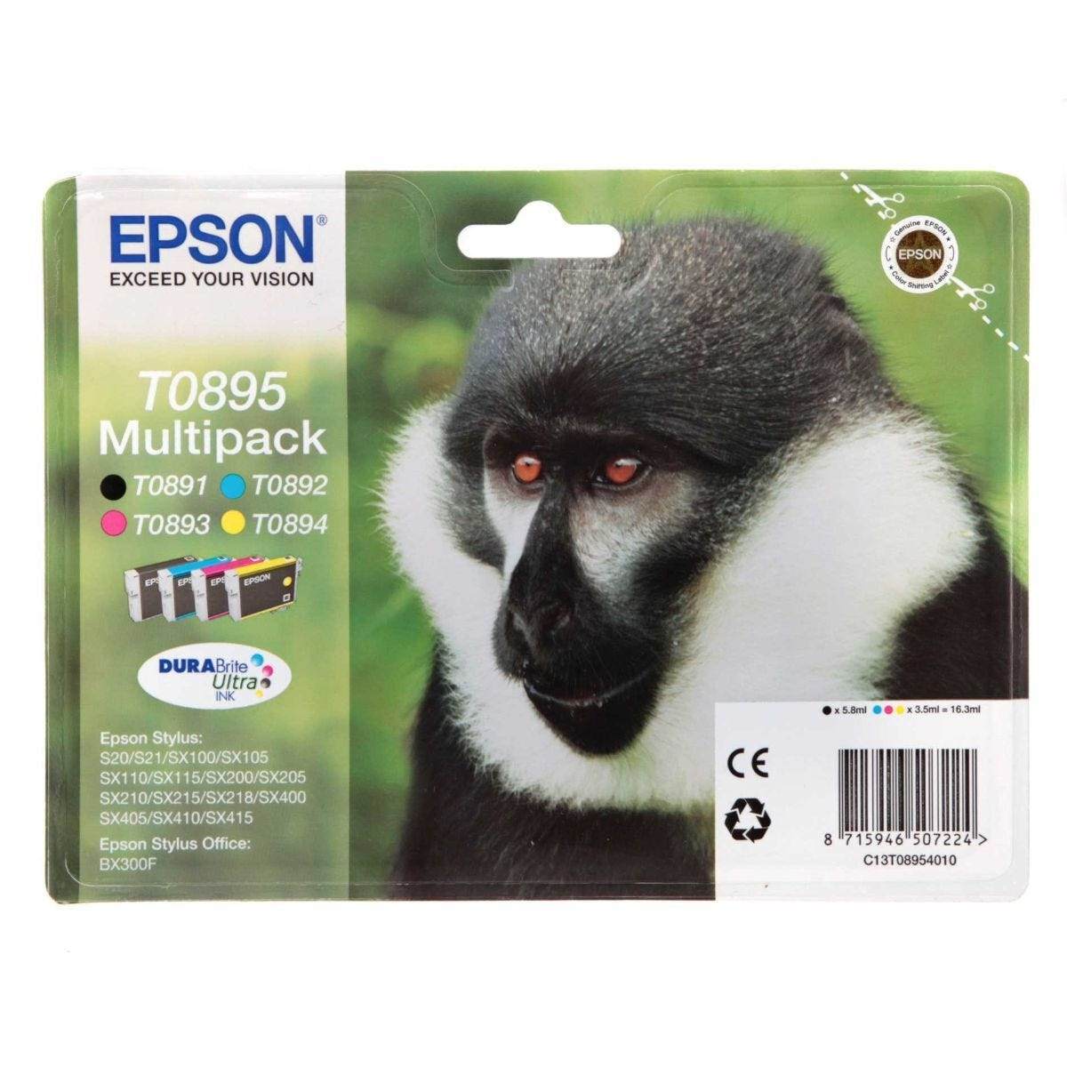 Epson Multipack 4-Colours T0895