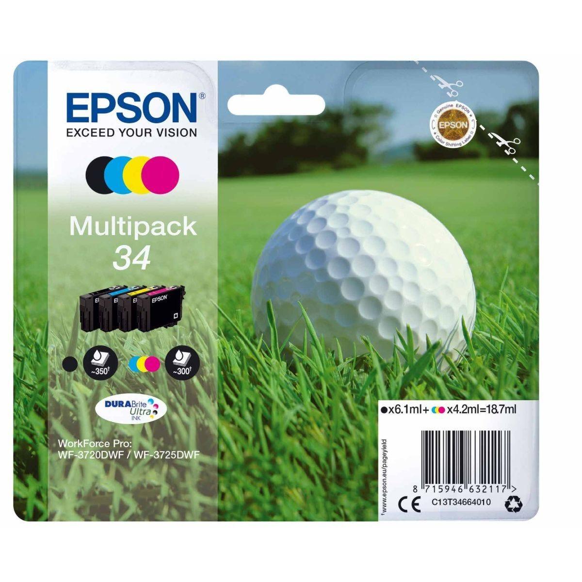 Epson 34 Workforce Pro Ink Multipack