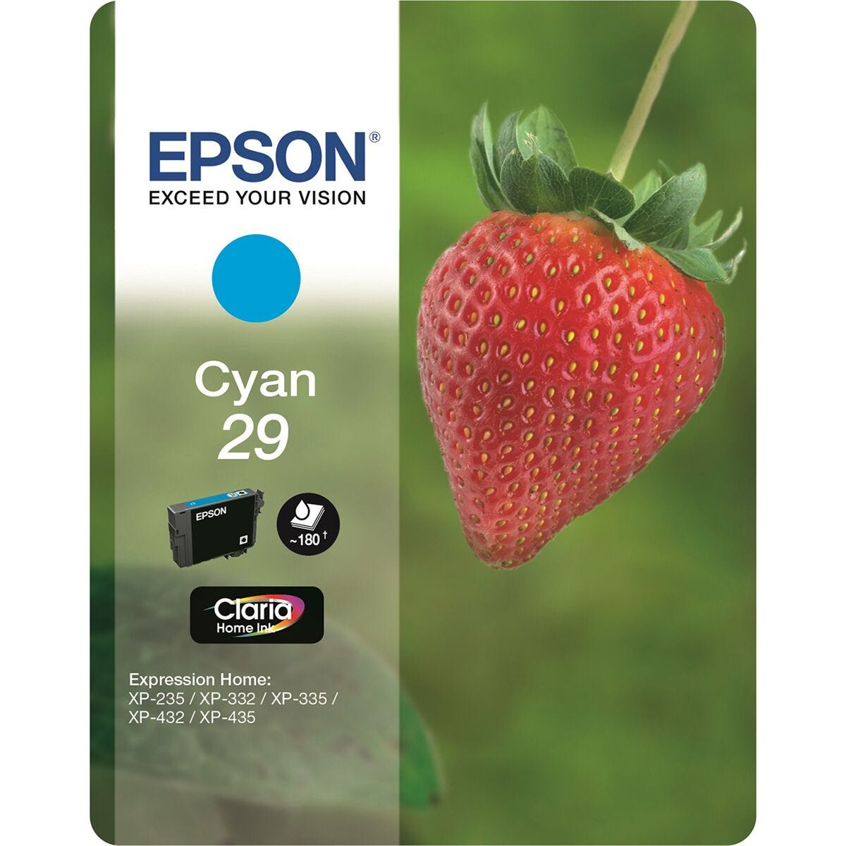 Epson 29 Strawberry Home Ink Cartridge Cyan
