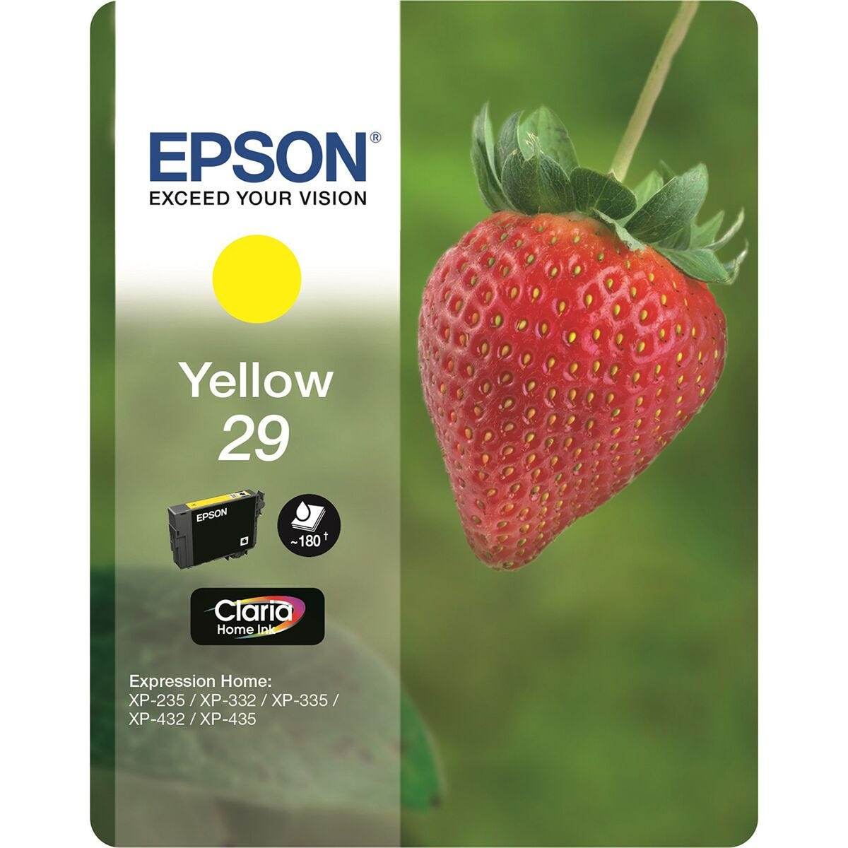 Epson 29 Strawberry Home Ink Cartridge Yellow