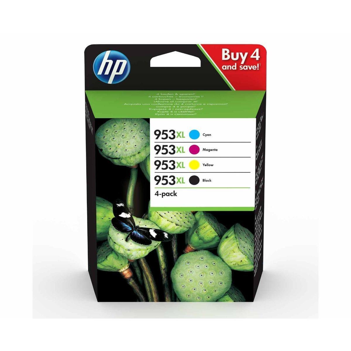 HP 953XL CMYK Multipack Original Ink Cartridge