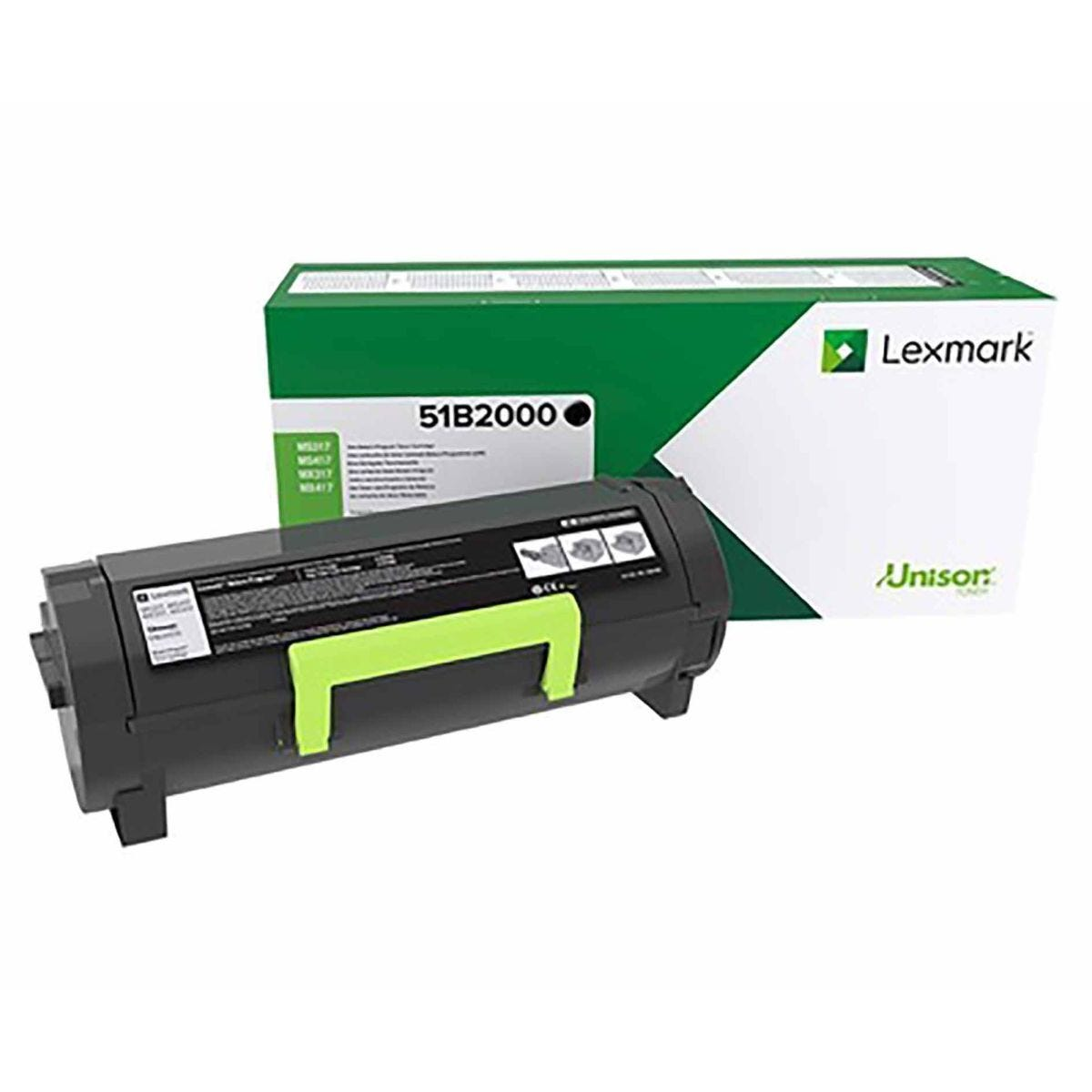 Lexmark 51B2000 Black Original Toner Cartridge