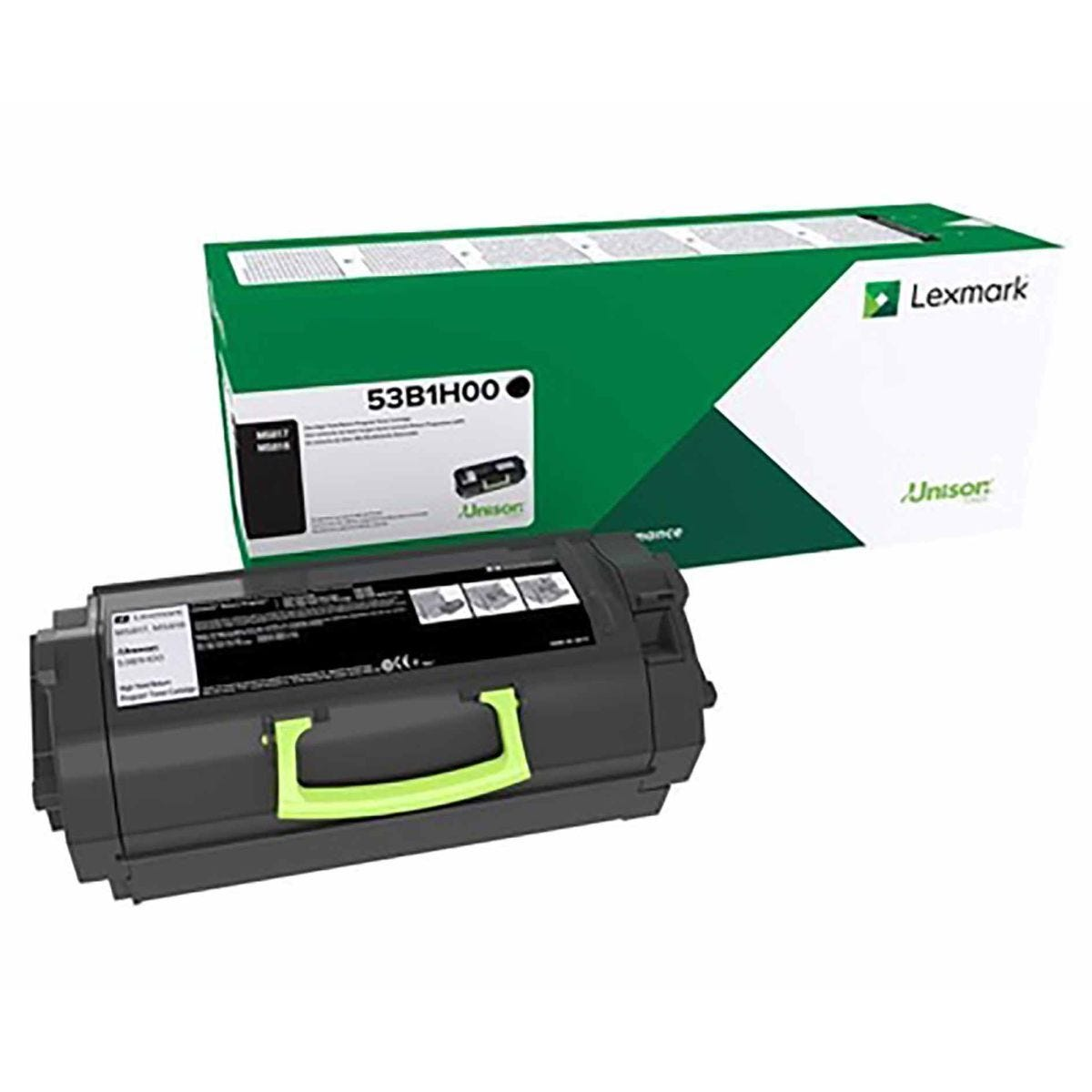 Lexmark 53B2H00 Black Original Toner Cartridge