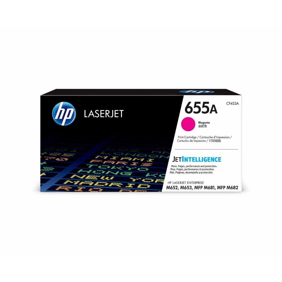 HP 655A Magenta Original Toner Cartridge