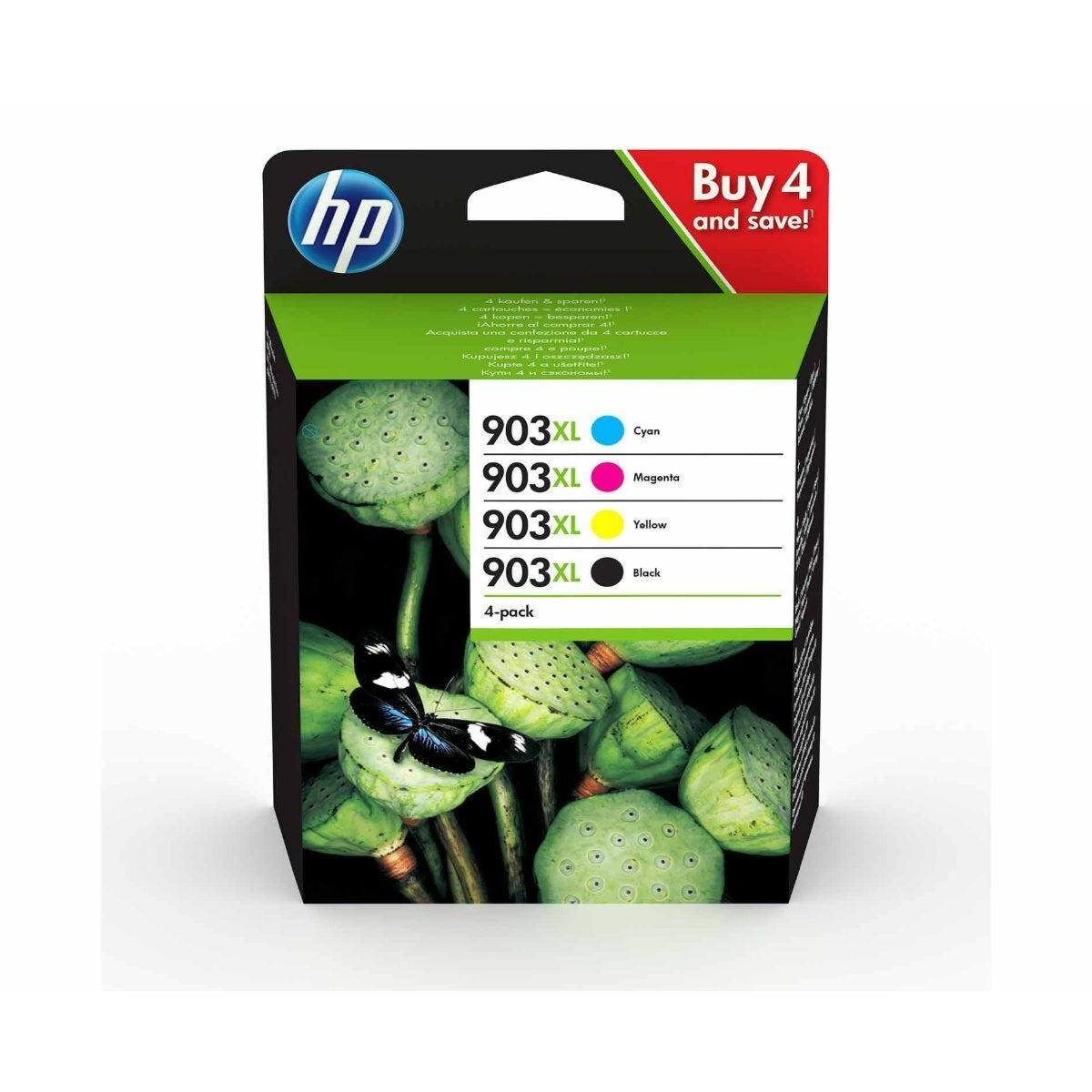 HP 903XL CMYK Multipack Original Ink Cartridge