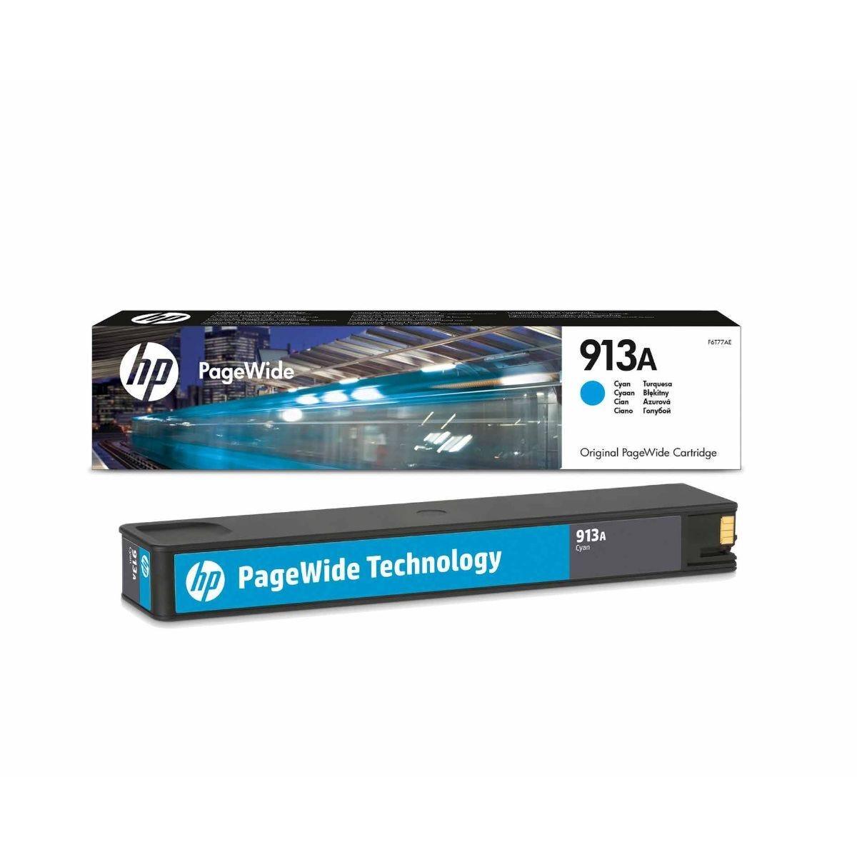 HP 913A Cyan Original Ink Cartridge