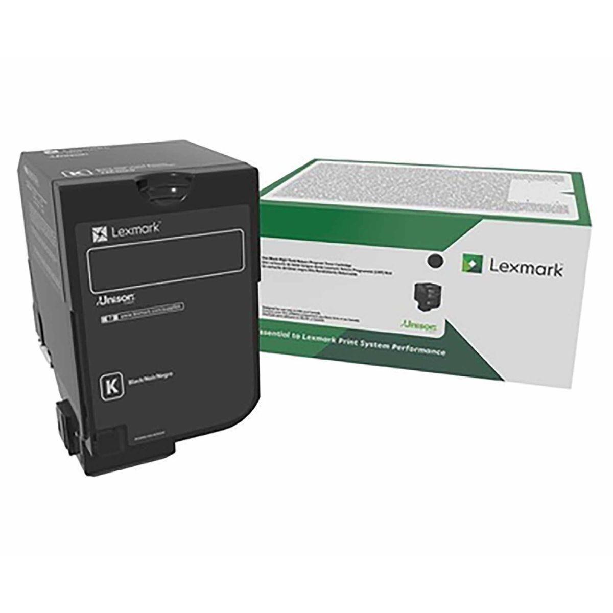 Lexmark CS82X Black Original Toner Cartridge