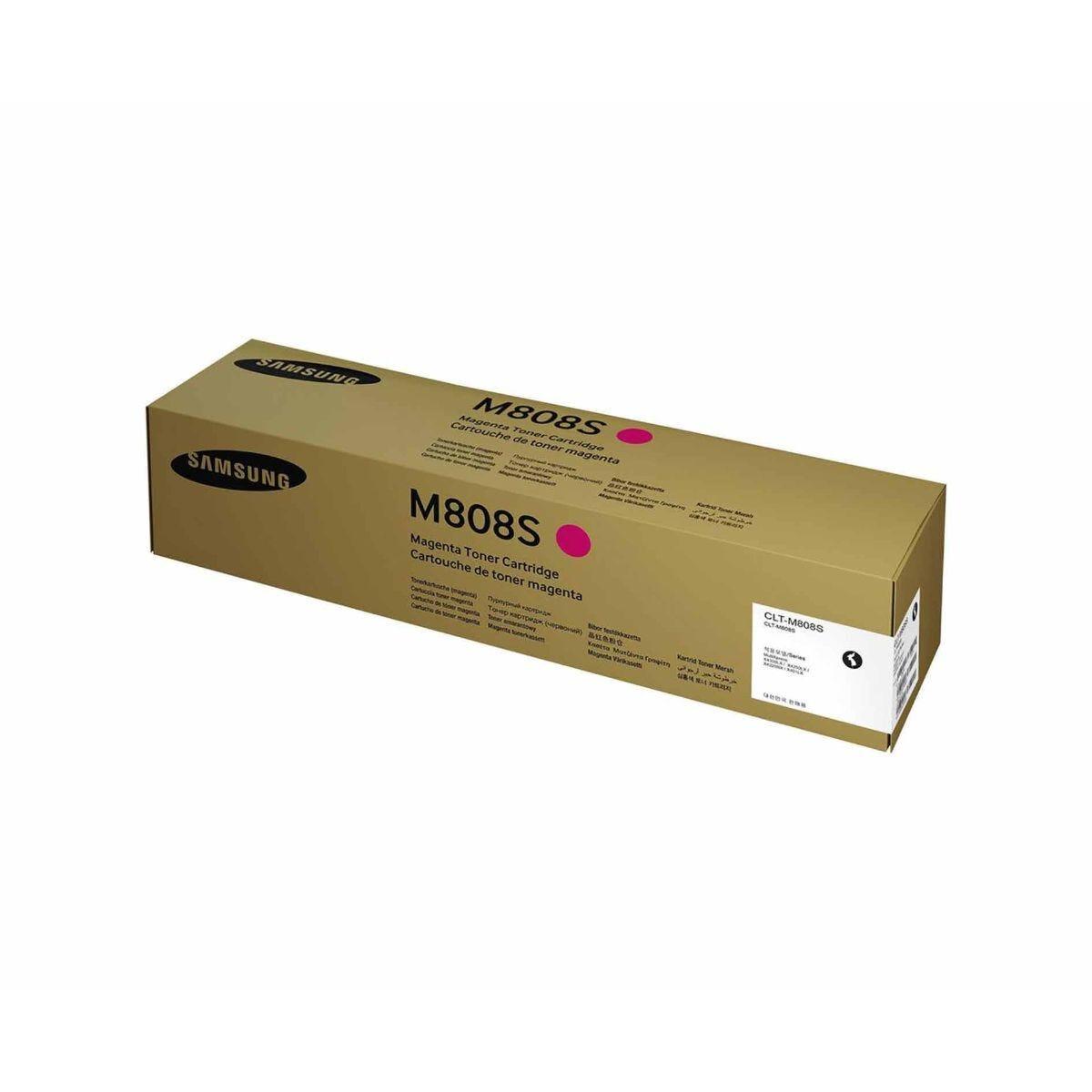 Samsung CLT-M808S Magenta Original Toner Cartridge