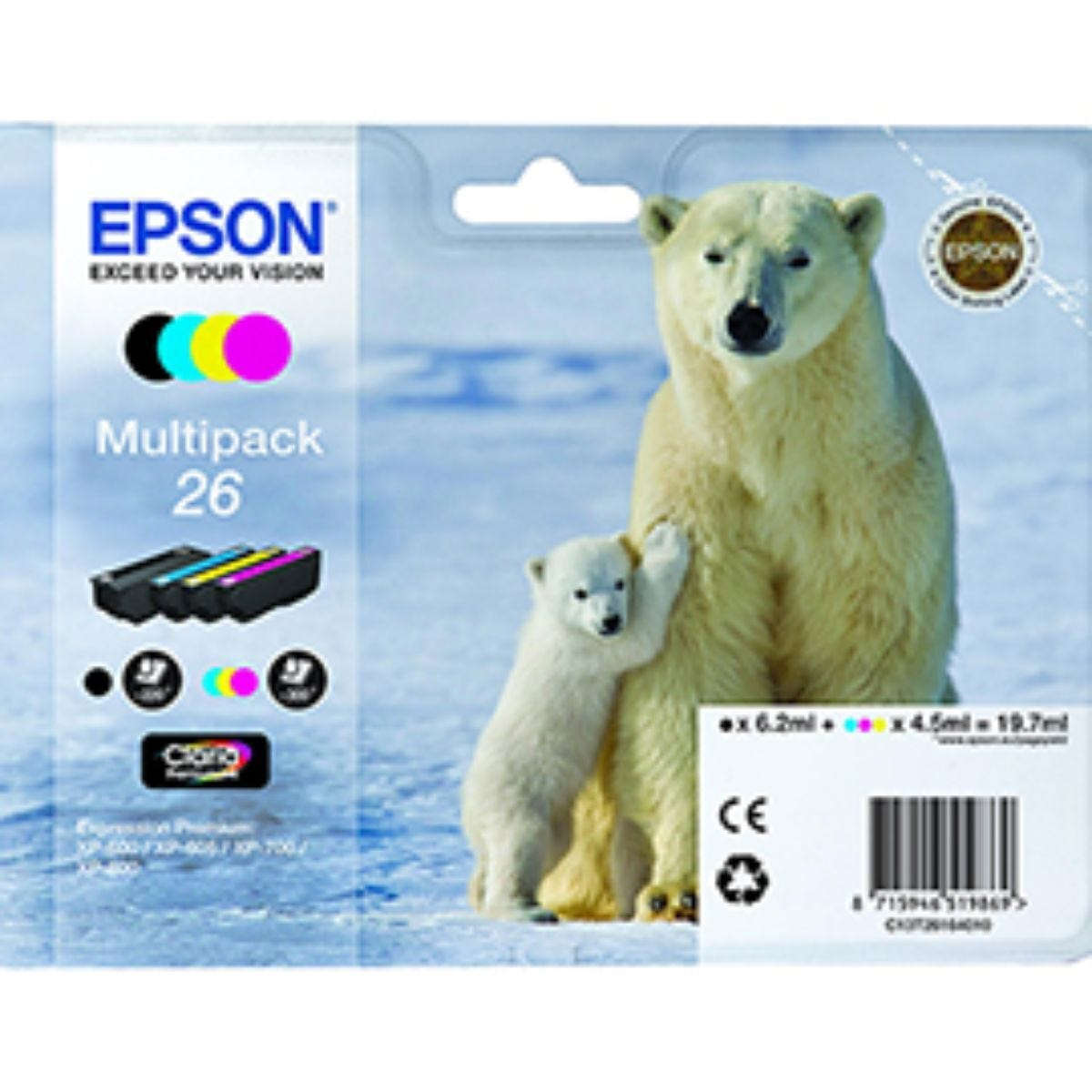Epson T261 4 Ink Multi Pack