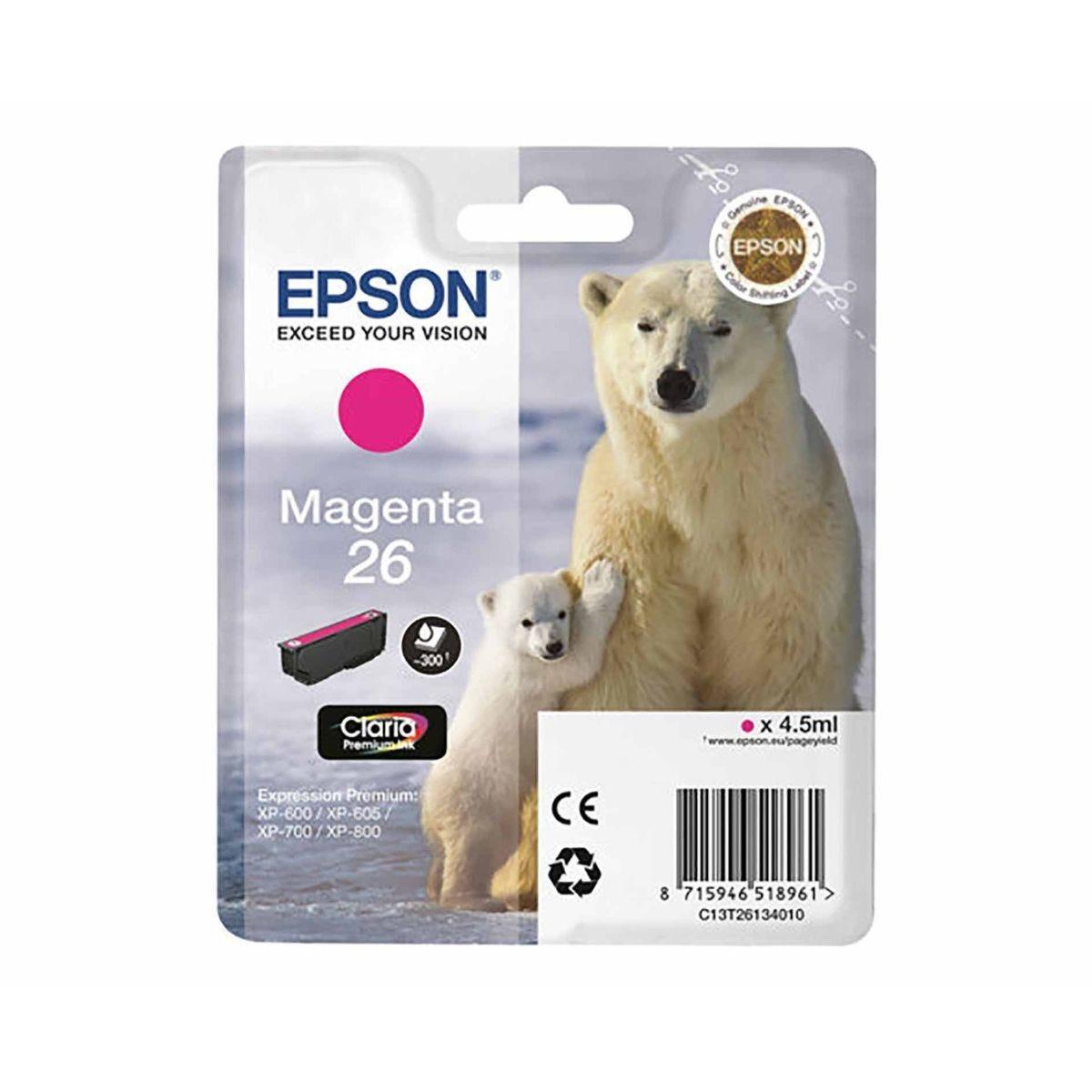 Epson T2613 Ink Magenta