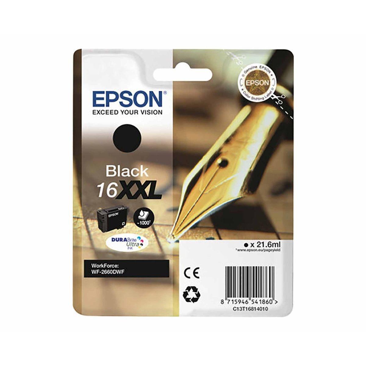 Epson 16XXL Pen and Crossword Black Original Ink Cartridge