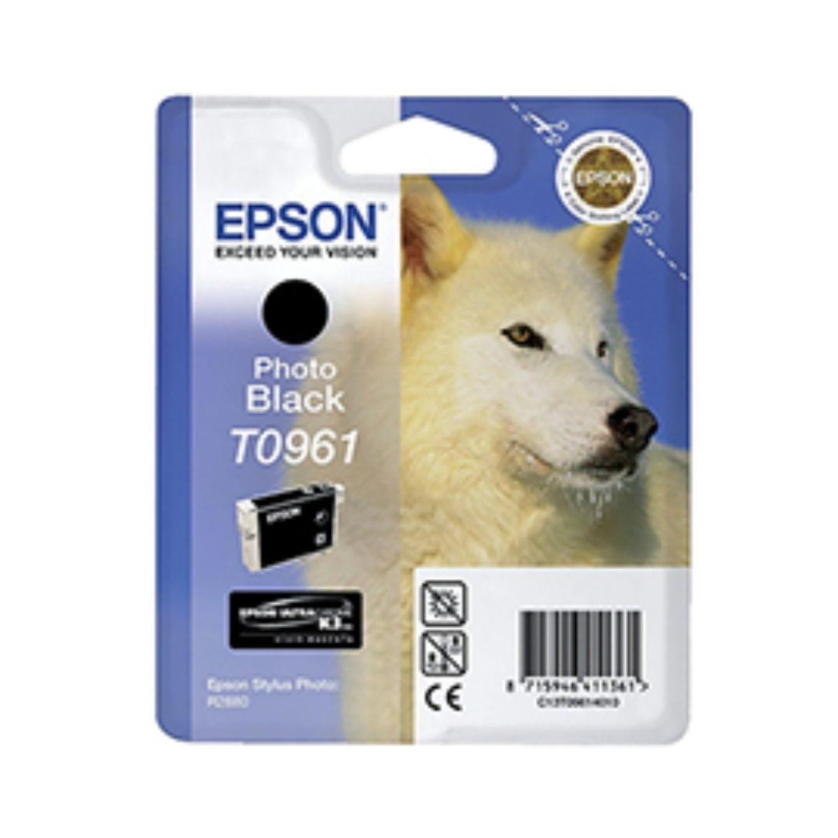 Epson T0961 Photo Ink Black