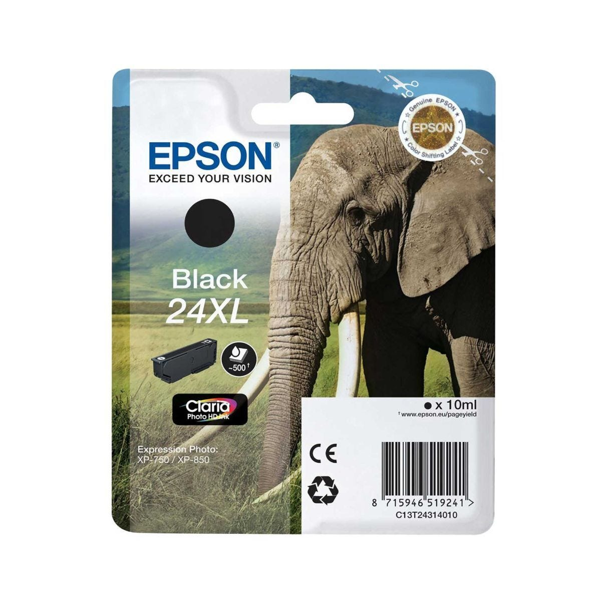 Epson T2431 24XL Ink Black