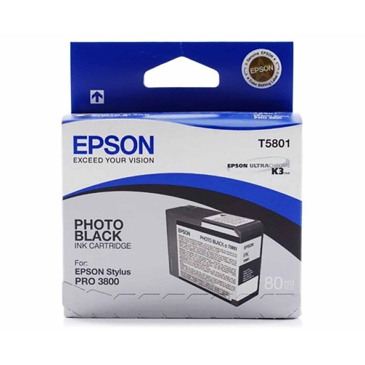 Epson PRO3800 Photo Ink Black