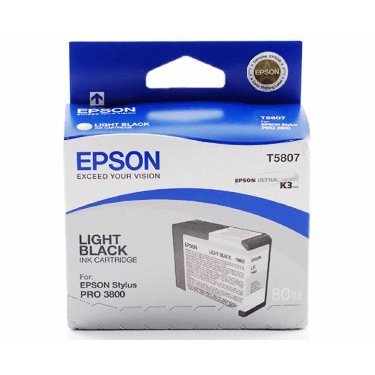 Epson PRO3800 Ink Light Black
