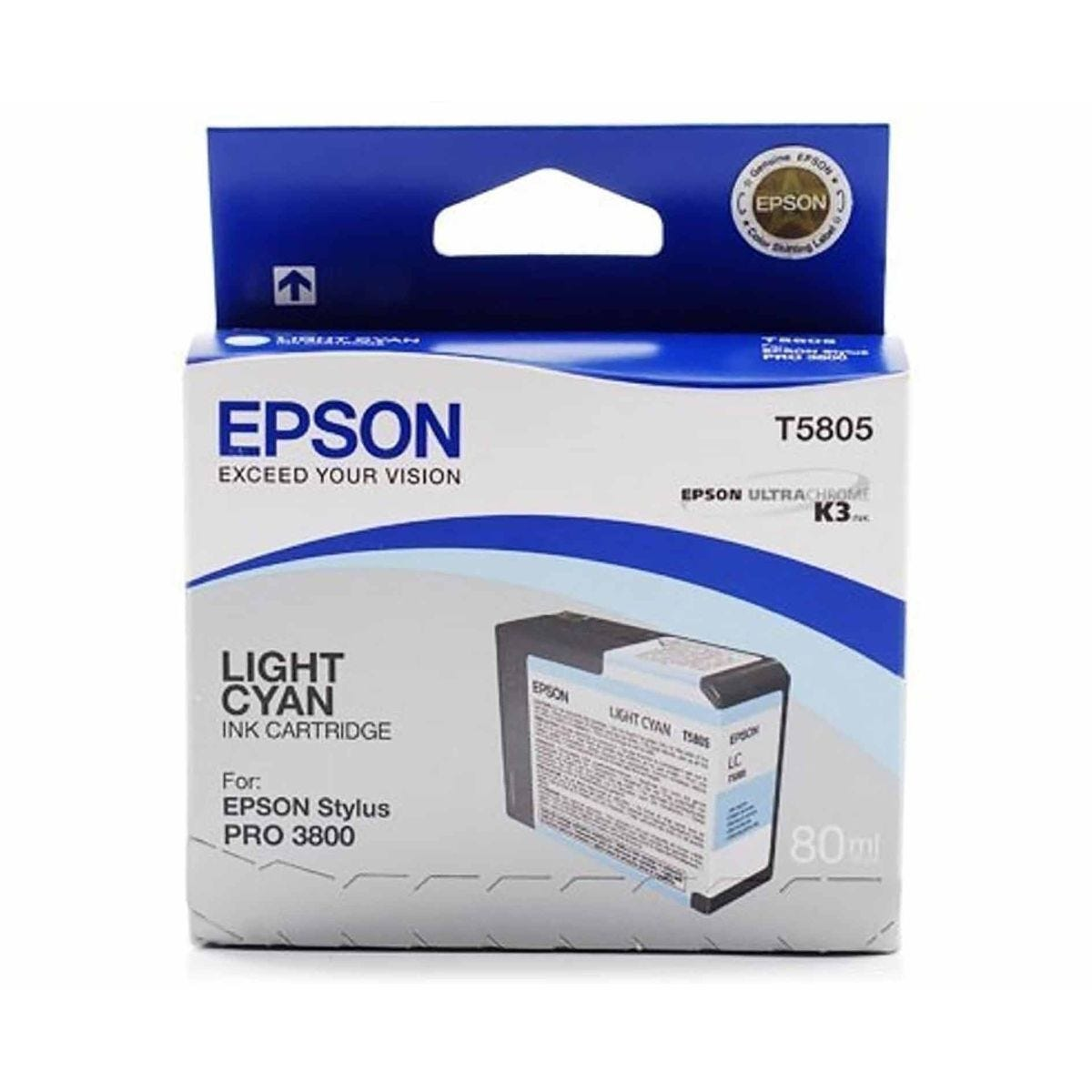Epson PrO3800 Ink Light Cyan