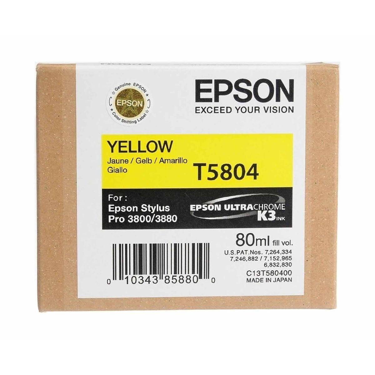 Epson PRO3880 Ink Yellow