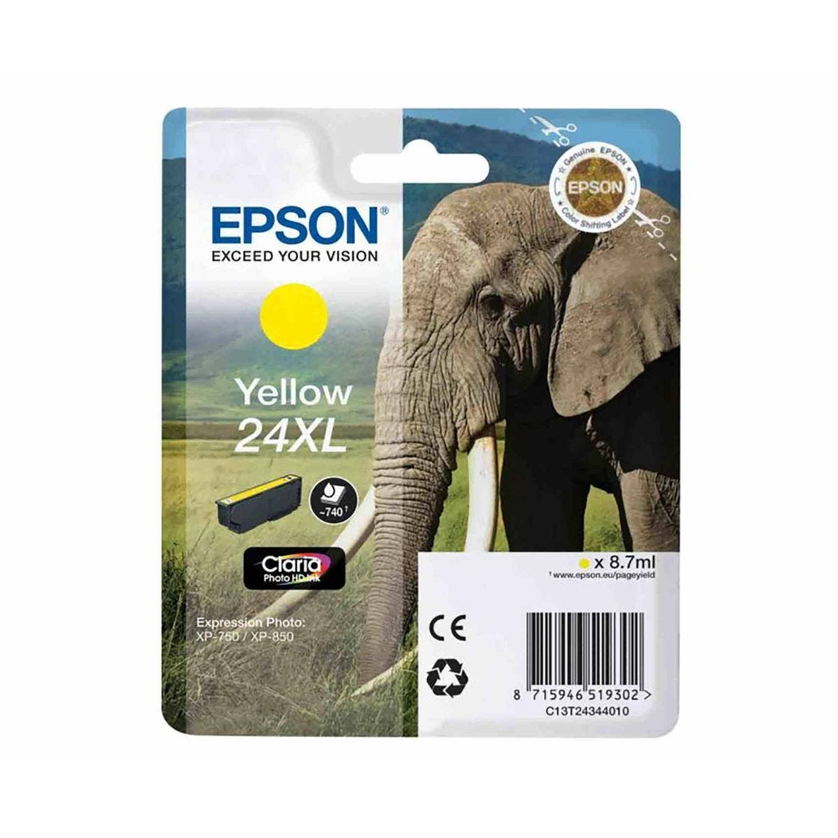 Epson T2434 24XL Ink Yellow