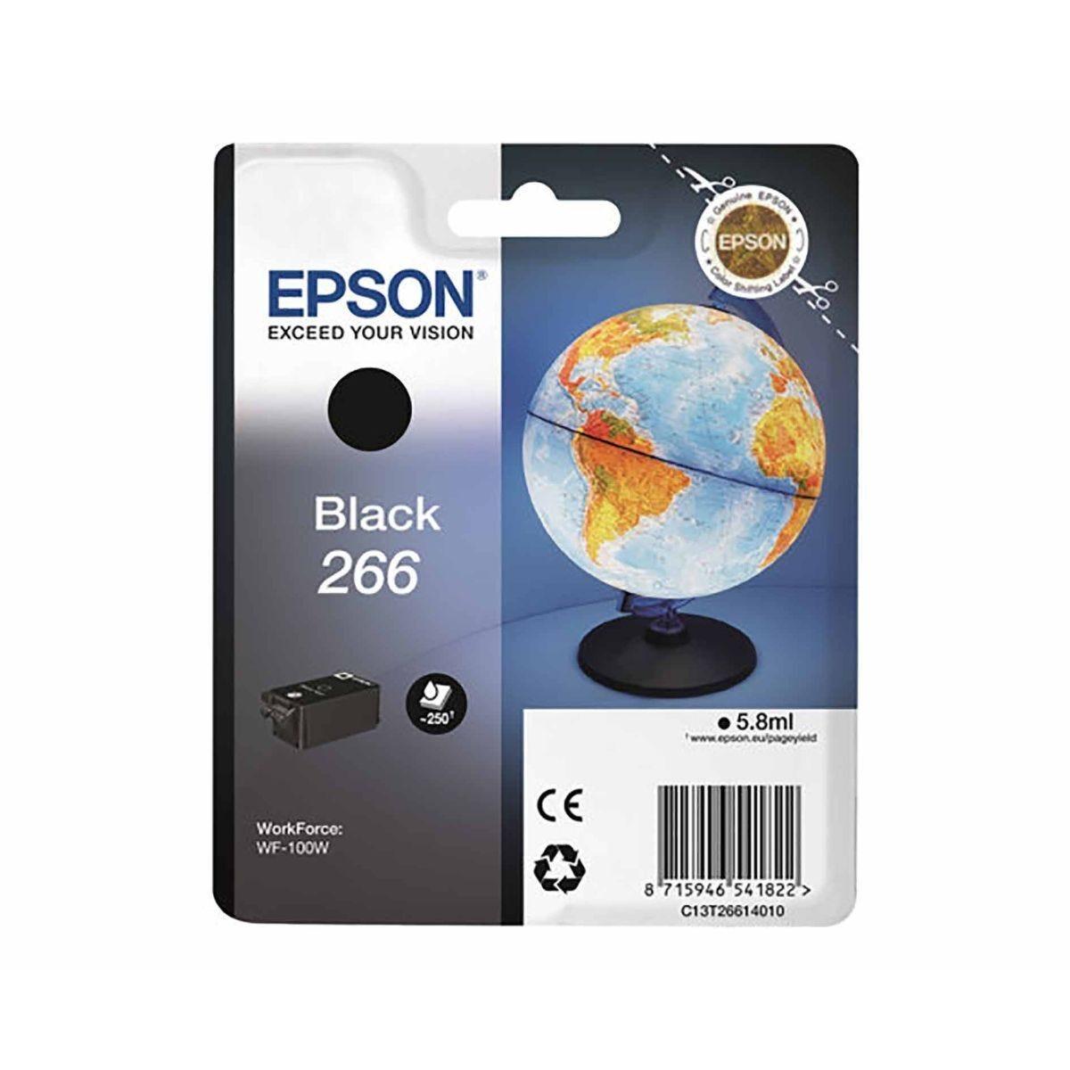 Epson T266 Ink Black