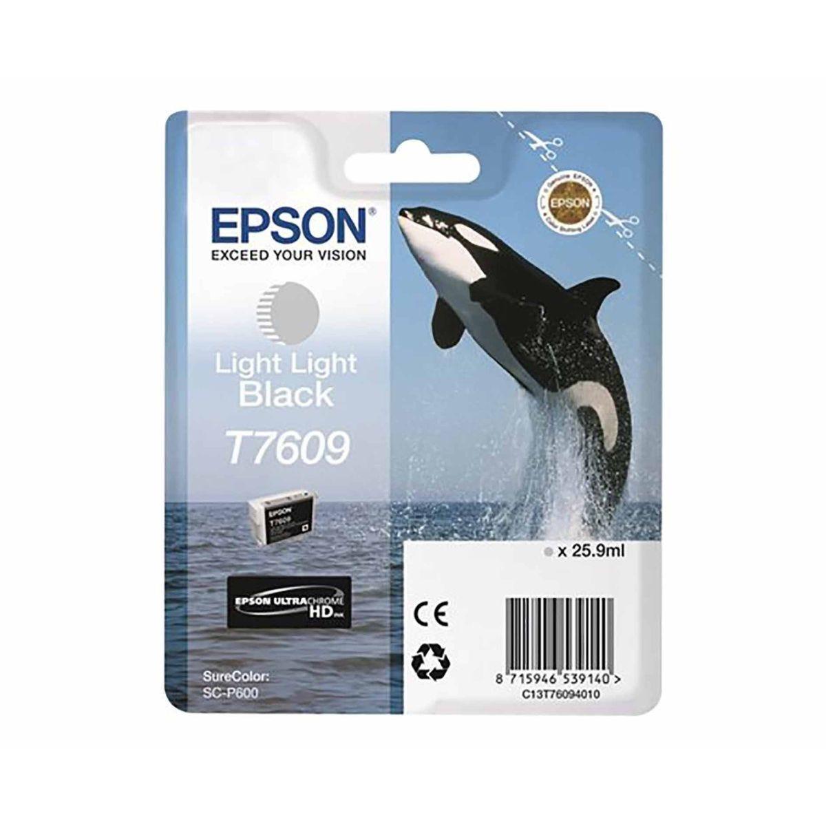Epson T7609 Ink Light Light Black