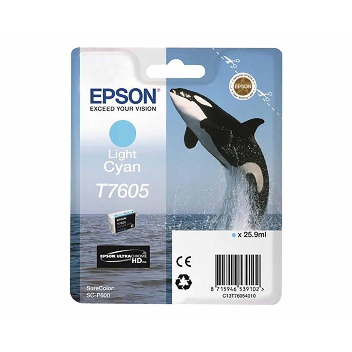 Epson T7605 Ink Light Cyan