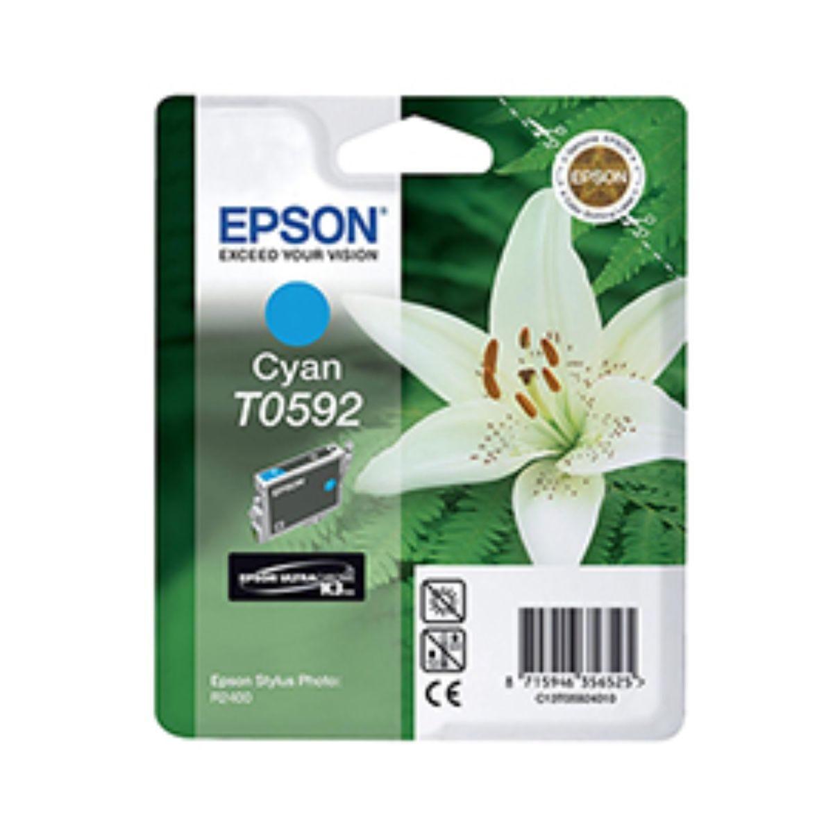 Epson T0592 Ink Cartridge Cyan