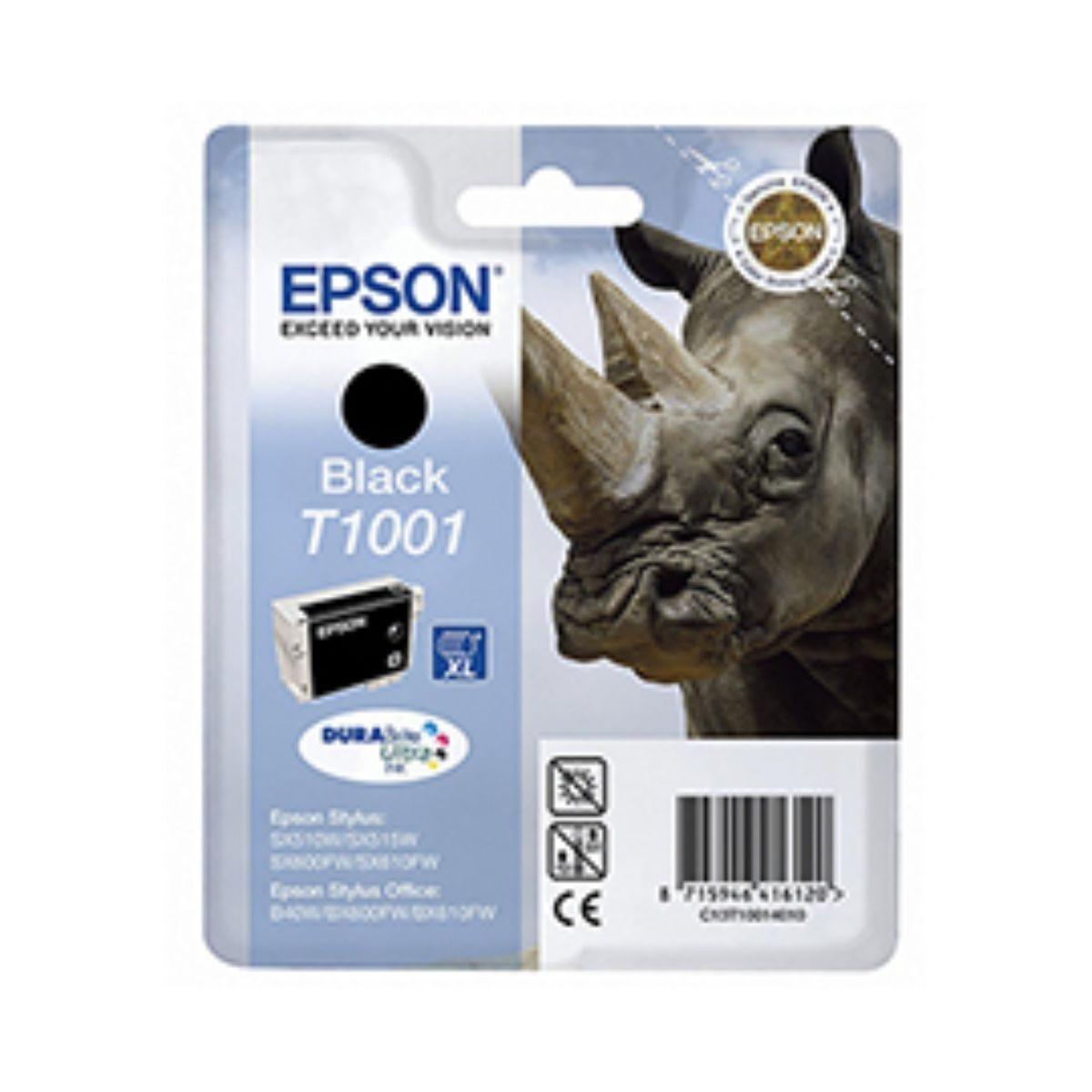 Epson T1001 XL Ink Cartridge Black