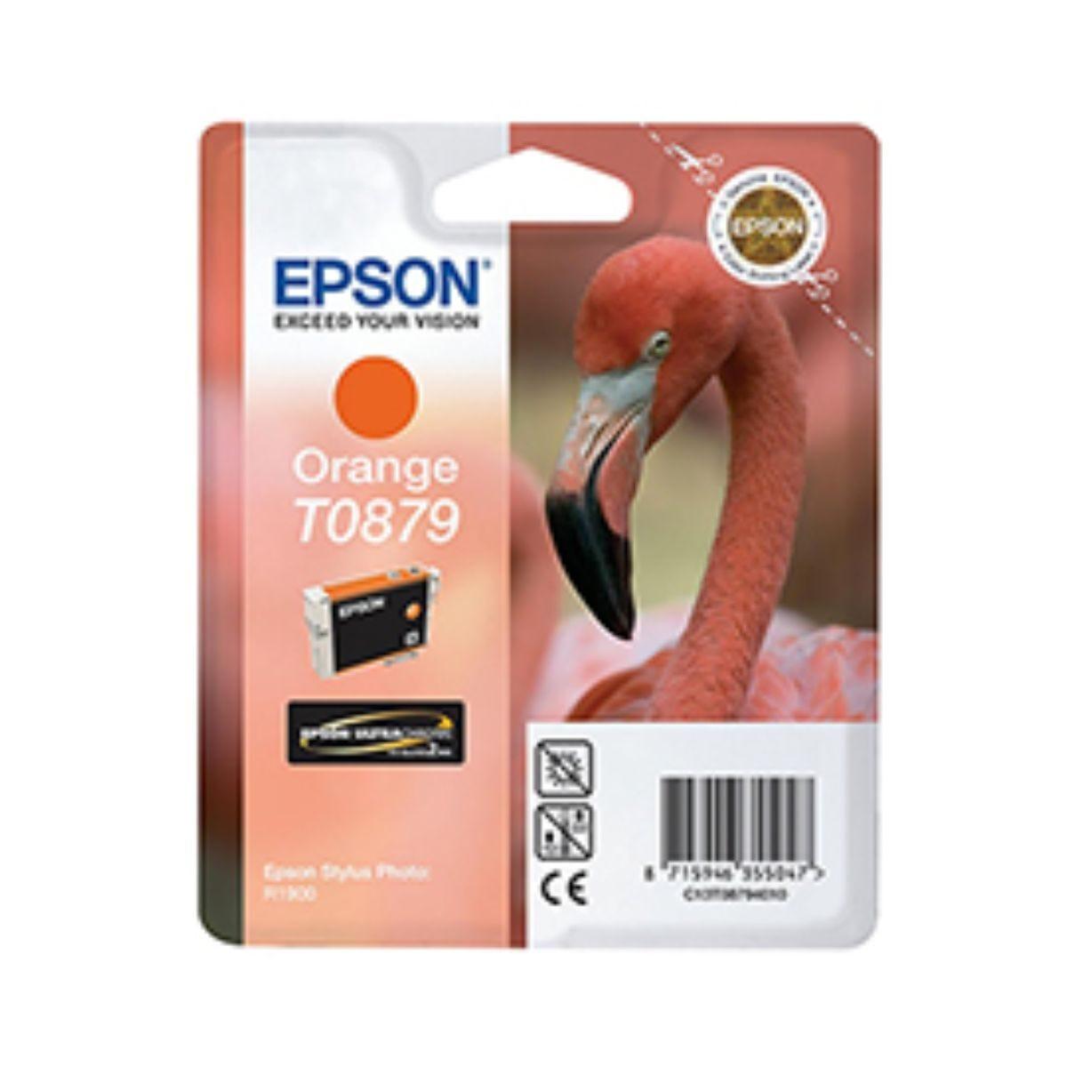 Epson T0879 Orange Ink Cartridge