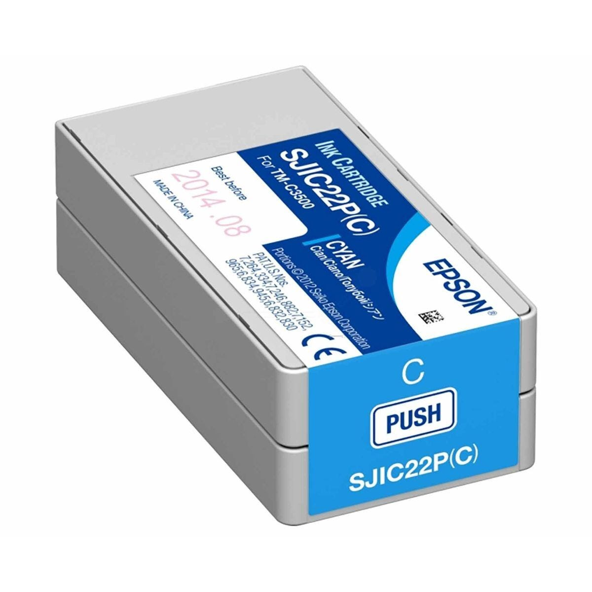 Epson TM-C3500 Ink Cartridge Cyan