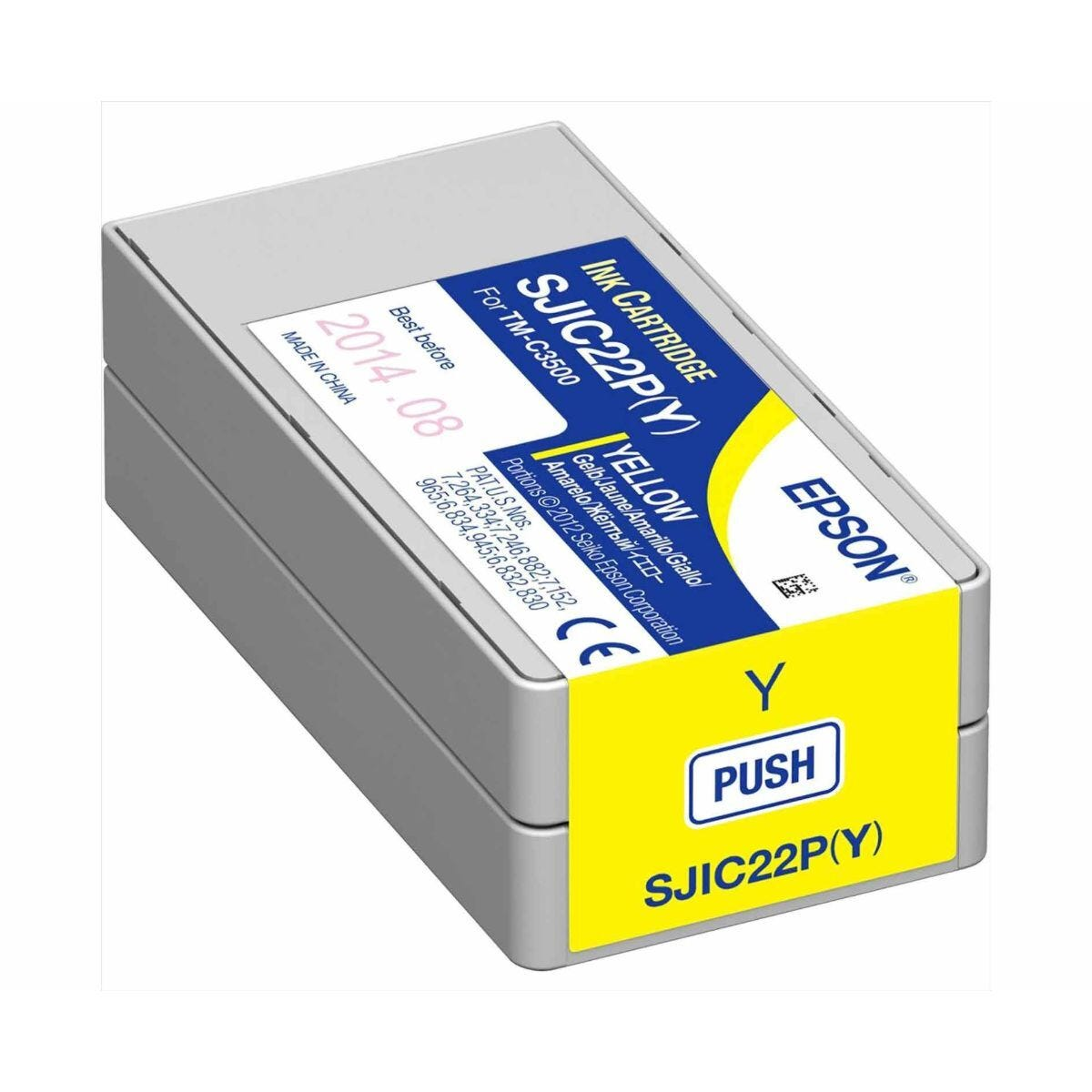 Epson TM-C3500 Ink Cartridge Yellow