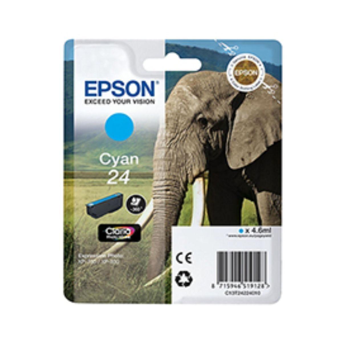 Epson T2422 24 Ink Cartridge Cyan