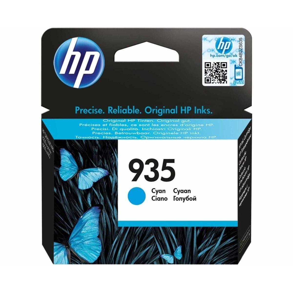 HP 935 Ink Cartridge Cyan