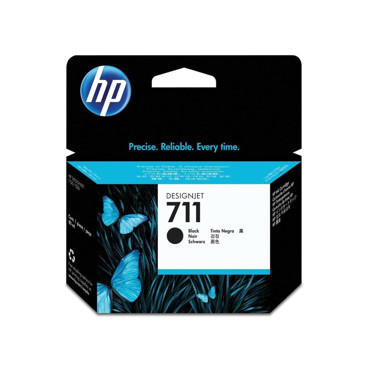 HP 711 80-ML Ink Black
